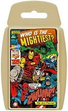 Card Games - Marvel Comics Retro Top Trumps Card Game