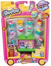 Dolls & Playsets - Shopkins 12 Pack - S8 Wave 2