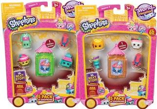 Dolls & Playsets - Shopkins 5 Pack - S8 Wave 2