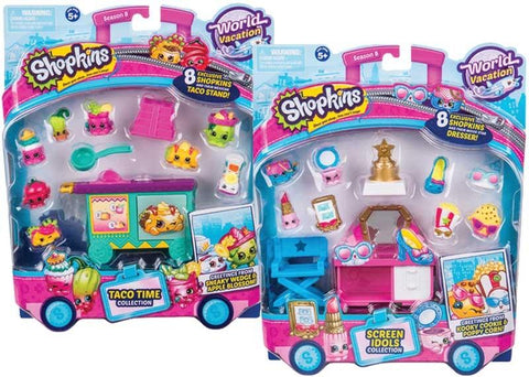 Dolls & Playsets - Shopkins Deluxe Pack - S8 Wave 3