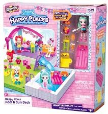 Dolls & Playsets - Shopkins Happy Places Pool Set