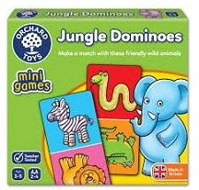 Educational Games - Jungle Dominoes