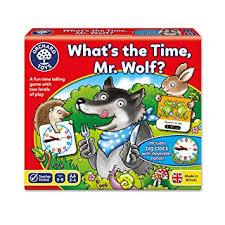 Educational Games - What's The Time, Mr Wolf
