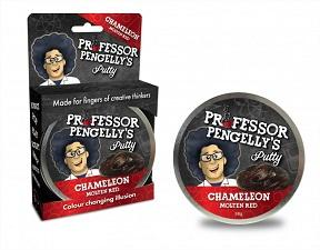 Putty - Professor Pengelly's Putty Chameleon Molten Red