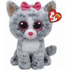 Soft Toys - TY Beanie Boo Buddy Kiki Cat