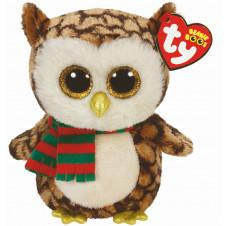 Soft Toys - TY Beanie Boo Wise Owl