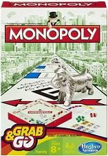 Travel Games - Monopoly Grab And Go