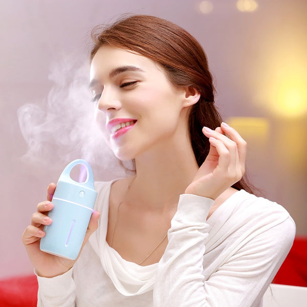 Magical Cup: The Colorful LED Light Ultrasonic Air Humidifier