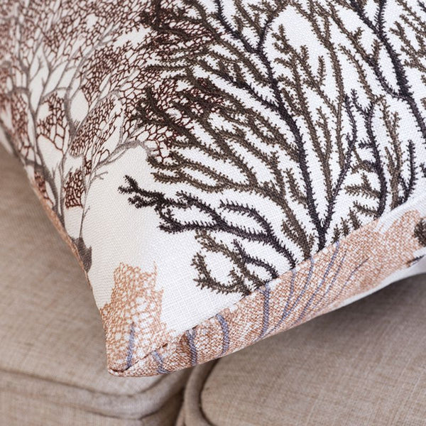 Decorative Throw Pillow Covers : Tranquil Forest Beauty