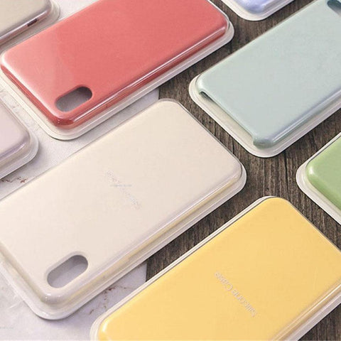 2019 Super Tough Silicone Case Cover For iPhones 5 to XR - Save 40%