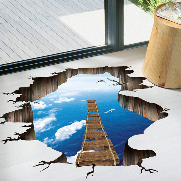 Kids LOVE 3D Cosmic Wall & Floor Murals