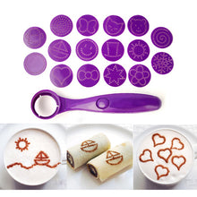 Load image into Gallery viewer, New Magic Spoon Food Decorating Kit: finish anything -from cakes to cappuccinos - perfectly every time!