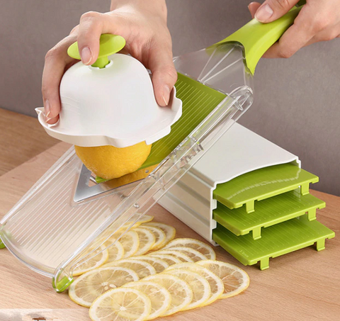 Multifunctional Fruit/Vegetable Mandoline Slicer