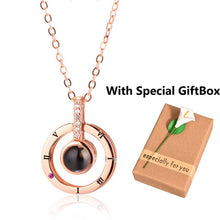 Load image into Gallery viewer, The Looking Glass of Love Pendant