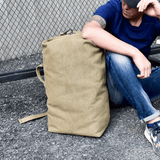 Canvas Rucksack (2 Sizes & 3 Colors)