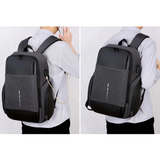 Casual 15,6″ Water-Resistant Smart Backpack