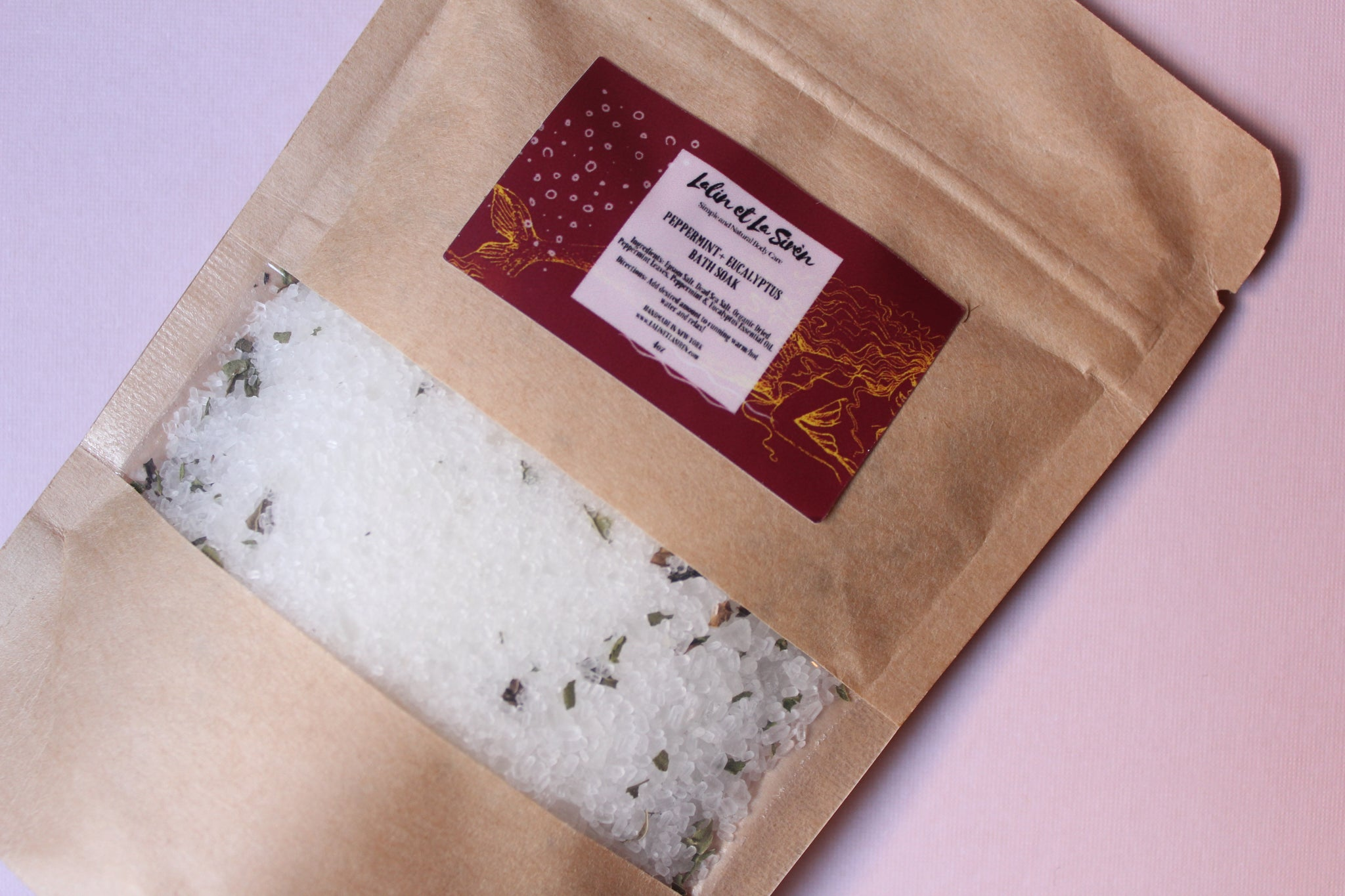 Peppermint+Eucalyptus Bath Soak
