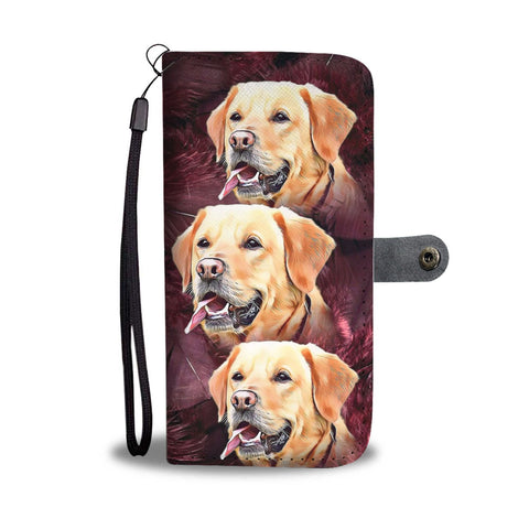 Lovely Labrador Retriever Wallet Case- Free Shipping
