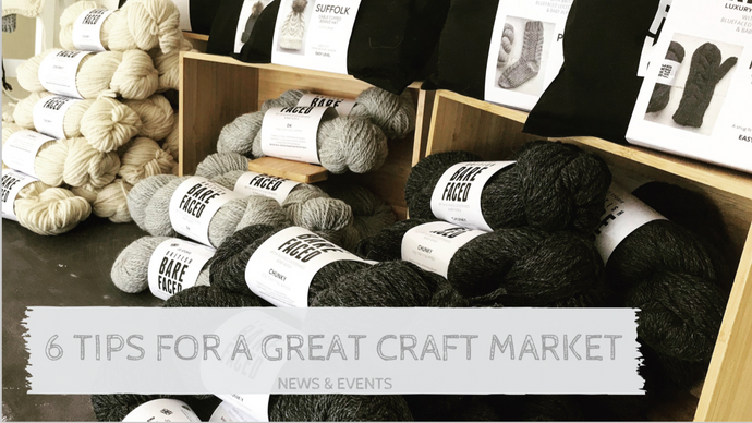 Top 6 Tips for a Successful Craft Market Stand
