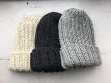Load image into Gallery viewer, Eildon Hat Knitting Pattern Printed Leaflet
