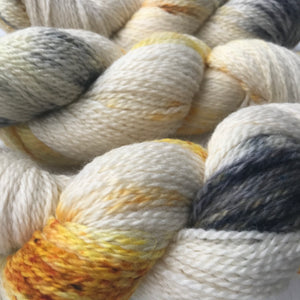 'Nougat' hand dyed British Yarn