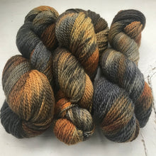 "Load image into Gallery viewer, BareFaced Smudge hand dyed British Wool Alpace ""Tarmachan"" by Jo Storie"
