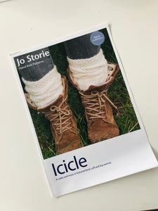 Icicle pattern leaflet