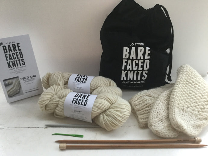 Pentland Sock BareFaced Knitting Kit