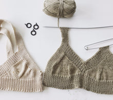 Load image into Gallery viewer, Craster Bralette and Vest Knitting Pattern