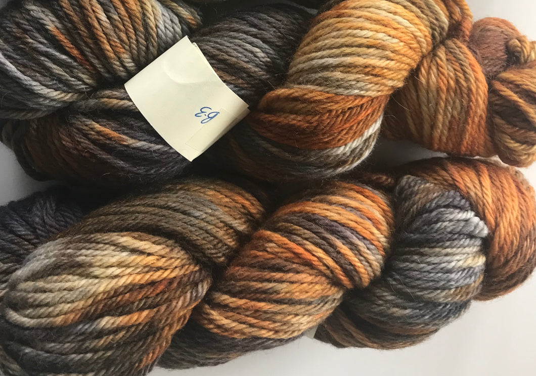 British BareFaced Smudge Chunky Yarn