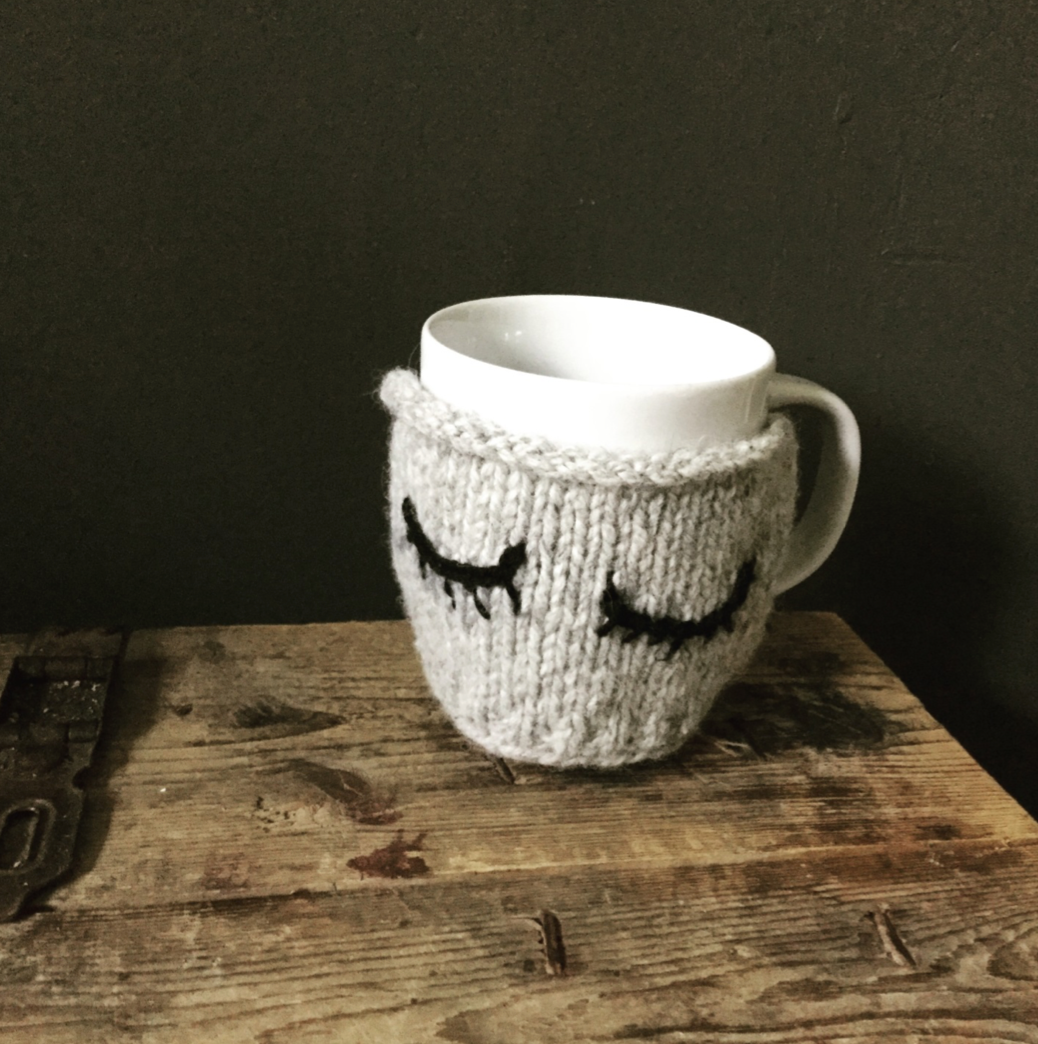 Ollie Mug Warmer - Free Knitting Pattern