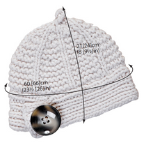 Load image into Gallery viewer, Acorn Hat Knitting Pattern ( download)