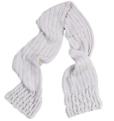 Arctic Scarf Knitting Pattern