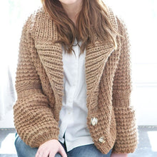 Load image into Gallery viewer, Bramble Cardigan Knitting Pattern