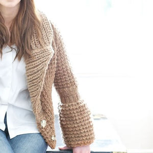 Bramble Cardigan Knitting Pattern