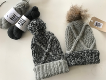 Load image into Gallery viewer, BunkHouse Beanie Knitting Pattern