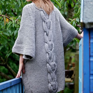 Cove Cardigan and Snood Knitting Pattern