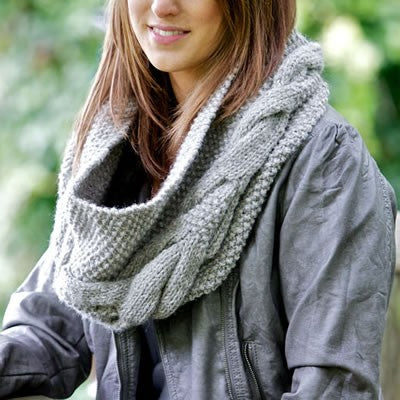 Cove Snood Knitting Pattern