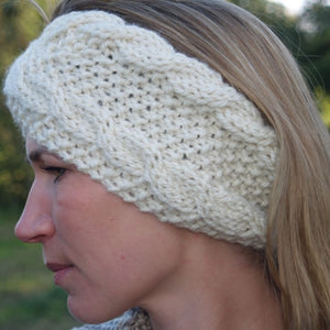 Frost Headband Knitting Pattern