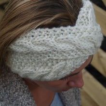Load image into Gallery viewer, Frost Headband Knitting Pattern