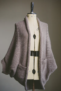 Mink Cardigan Knitting Pattern