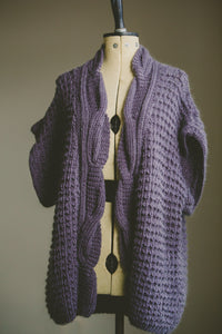 Baskerville Cardigan Knitting Pattern