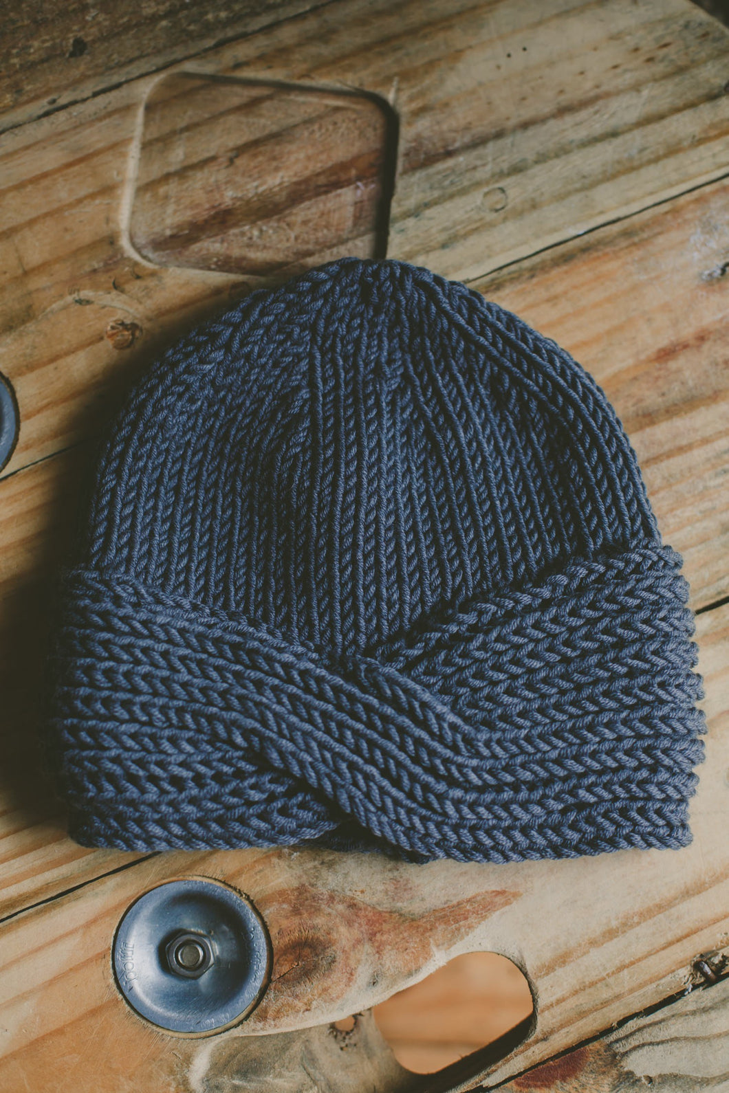 Morocco Hat Knitting Pattern