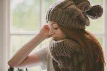 Load image into Gallery viewer, Goose Hat Knitting Pattern