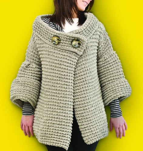 Hepburn Cardigan Knitting Pattern