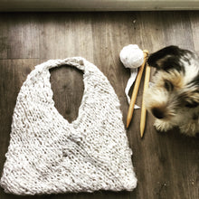 Load image into Gallery viewer, Bag for Life - PDF Knitting Pattern