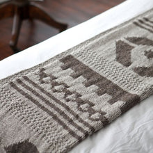 Load image into Gallery viewer, Navajo Throw Knitting Pattern