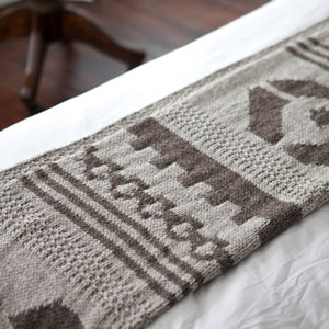 Navajo Throw Knitting Pattern