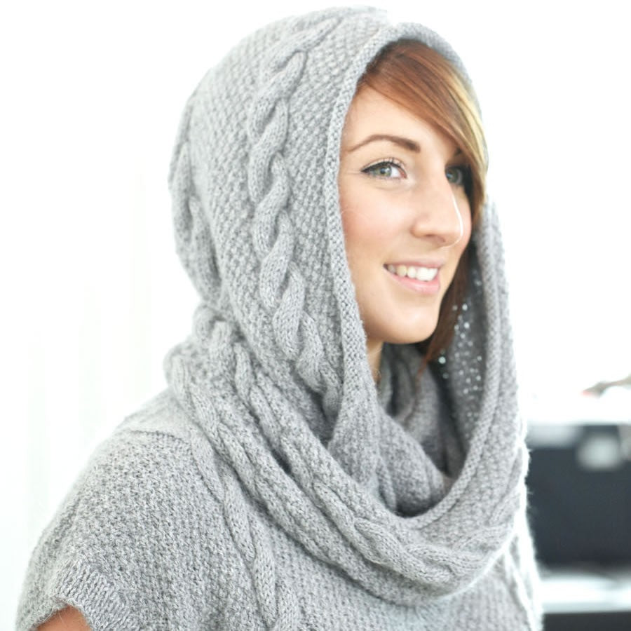 Oak Scarf Knitting Pattern