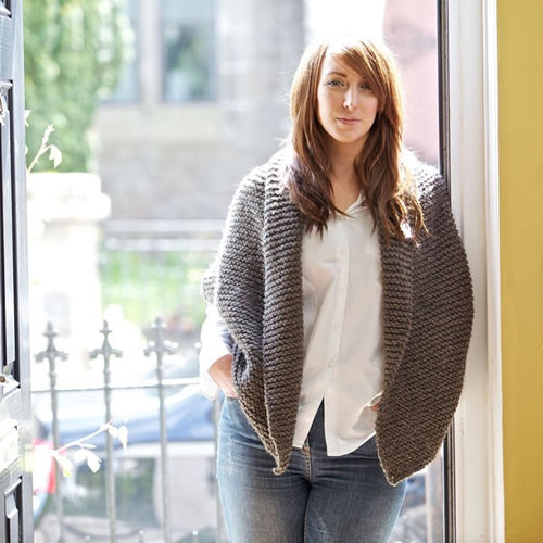 Pine Cardigan Knitting Pattern